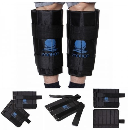 Adjustable Ankle Training Leg Pads Gym Exercise Walking Weighted Zooboo