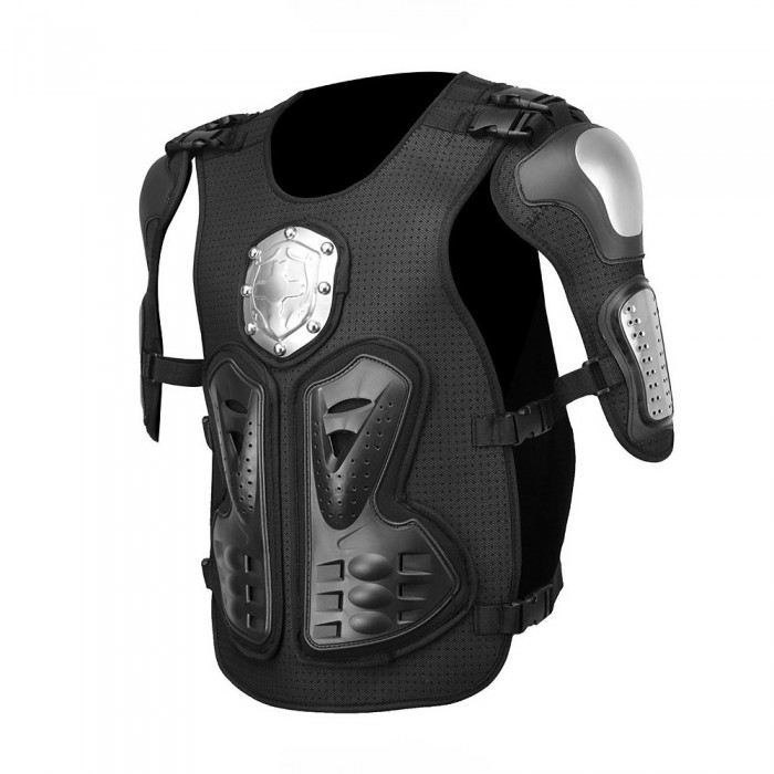 Motocross Racing Motorcycle Body Armadura Protetora Chest Protector Back Armour Metal Gear