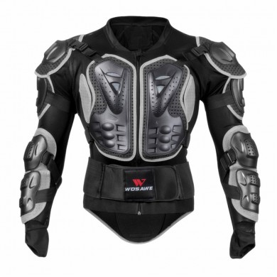 Motorcycle Cycling Armor Motocross Jacket Protector Chest Back Protective Safety Gear