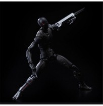 Synthetic Human Action Figure Warrior 1/12 Scale Collectible Model Soldier Toy 15cm Soldier