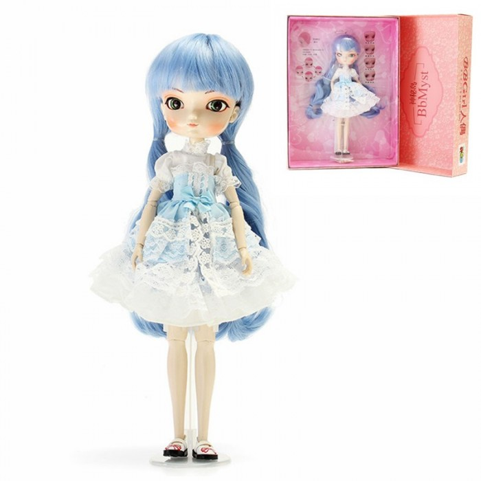 BBGirl LanXin BJD Boneca 35cm Ball Joint Boneca Coleção Gift Toy Face Eyes Changeable Customized