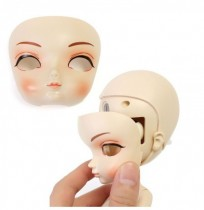BBGirl MengNa BJD Ball Joint Doll 35cm Collection Gift Toy Face Eyes Posture Changeable Personnalisé