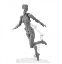 BJD SHF Figuras Body Figma 2.0 Deluxe Edition Grey Female Style Toys Joint Moved With Weapons