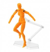 Figma 2.0 Deluxe Edition Orange Female Style PVC Action Figure Toys Collectible Model Doll