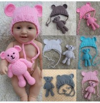 Newborn Hat Stuffed Plush Toy Doll Accessories Without Reborn Baby Doll