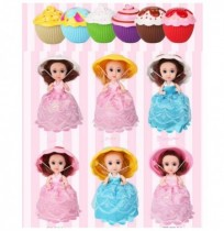 16cm Cupcake Princess Surprise Doll Dress Deformation Dolls Girl Beautiful Birthday Present Cute Toy
