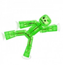 5PCS Stikbot Sucker Suction Cup Funny Deformable Sticky Robot Action Figure Toy