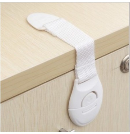 Refrigerator Toilet Drawers Safety Plastic Lock For Kid Baby Safety