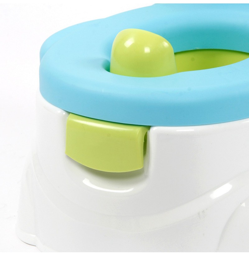 Baby Toilet Trainer Toddler Kid Potties Training Seat Smile Face