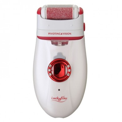 3 en 1 recargable portátil durable inalámbrico Epilator Shaver Kit