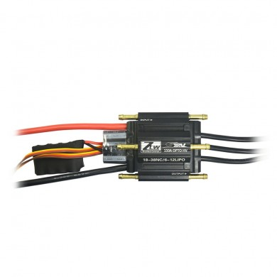 ZTW Seal 150A OPTO HV Metal Brushless Waterproof ESC W/ Water Cooling System for Rc Boat Parts