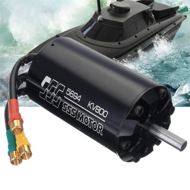 SSS 5694/800KV Brushless Motor 6 Pole W / O Water Cooling for RC Boat Parts
