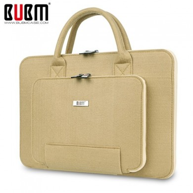 BUBM 11 inch Mult-Color Hair Felt Shockproof Spill Resistance Laptop Inner Package Bag for Macbook
