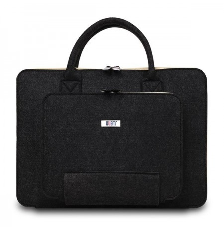 BUBM 13 inch Mult-Color Hair Felt Shockproof Spill Resistance Laptop Inner Package Bag for Macbook