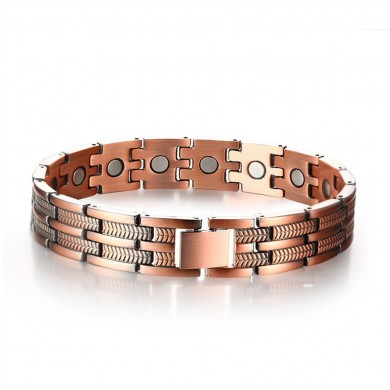 Adjustable Length Healthy Magnetic Bracelet Pain Relief