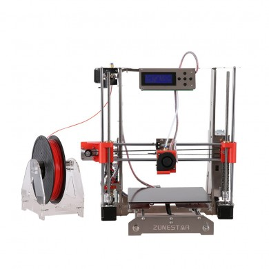 Zonestar®P802Q Full Metal Reprap Prusa I3 DIY 3D Printer 220x220x240mm Printing Size With Auto-leveling Function 1.75mm 0.4mm No
