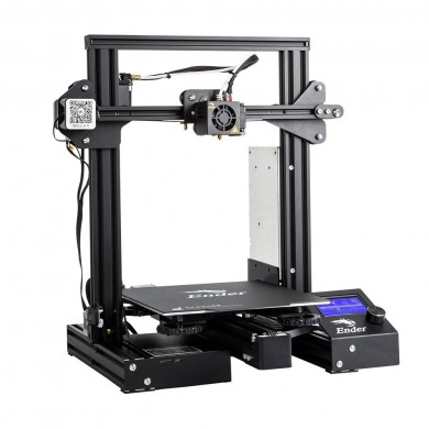Creality 3D® Ender-3 Pro V-slot Prusa I3 DIY 3D Printer 220x220x250mm Printing Size With Magnetic Removable Platform Sticker/Pow