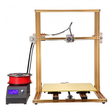 RAISCUBE® U18/U12 Full Aluminum Frame DIY 3D Printer Kit Support Off-line Print/Resume Printing/Filament Run-out Detection/Brode