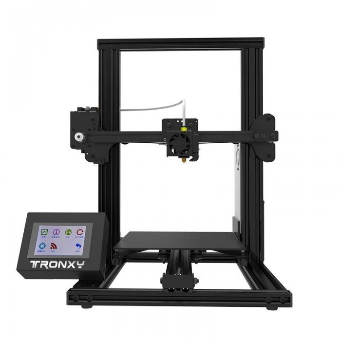 TRONXY® XY-2 Aluminum 3D Printer 220x220x260mm Printing Size With 3.5 Full Color Touch Screen/Fast Printing Speed/Bowden Extrude