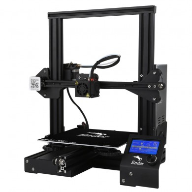 Creality 3D® Ender-3 V-slot Prusa I3 DIY 3D Printer Kit 220x220x250mm Printing Size With Power Resume Function/MK10 Extruder 1.7