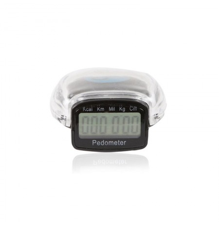 Taiwan Package Chip Portable Stylish Digital Pedometer Distância Calorie Calculation Counter
