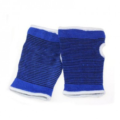 Multifuncional Aptitud Palms Profesional Knitted Pearl Blue Cotton Yarn Care Palm Guantes