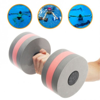 1Pc Natación EVA Dumbbell Aquatic Barbell Piscina Aptitud