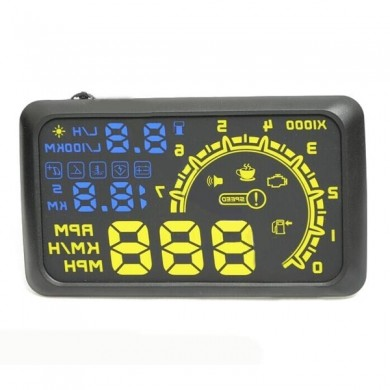 Die vierte Generation ActiSafety HUD Head Up Display OBD2-Schnittstelle
