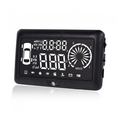 I3 Car 4.0 inch HUD Driving Data Speedometer Speeding Warning System