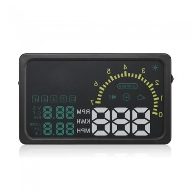 I5 6 inch Car HUD Head Up Display OBDII Interface