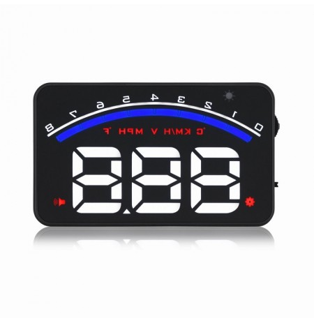 Geyiren M6 Car HUD Display 3 Inch Car Display Car Alarm Tool