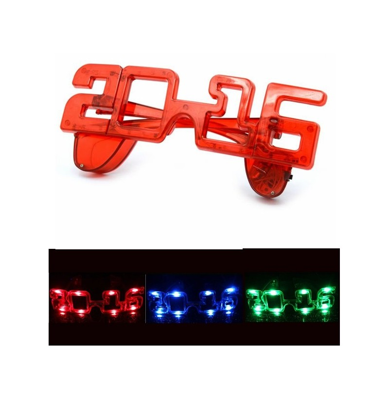 2016 New Year Light Up Party National Day Festival LED Eyewear Glasses (Color: Blue) фото