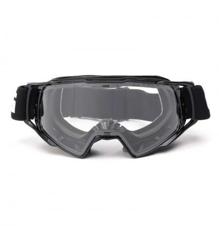 Moto Goggles Motocross Off-Road ATV Bike Helmet Eyewear Anti-UV Clear