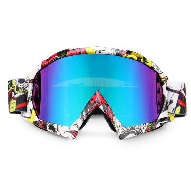 Windproof Motorcycle Racing Glasses Anti-UV Adjustable Skiing Snowboard Ski Goggles