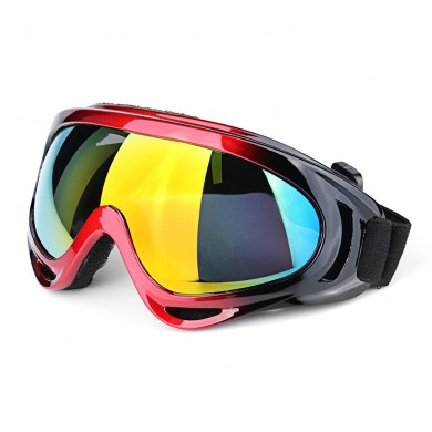 Motorcycle Outdoor Sports Skiing Unisex Windproof Dustproof Snowboard Goggles Glasses