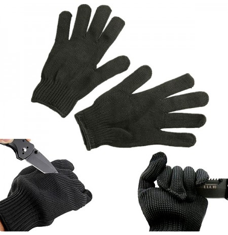 Maxcatch Durable Protective Fishing Glove Tuff-Knit Yarn Anti-cut Fishing Glove