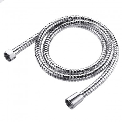 1.5m Flexible Shower Hose Stainless Steel Handheld Shower Head Sprayer Hose Pipe Extension