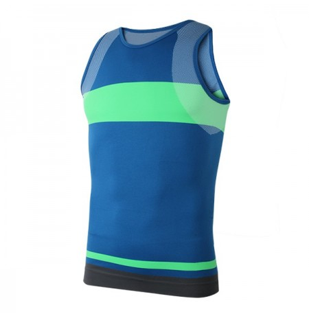 Men Compression Enge Sport Vest Tank Top Stretch ärmelloses Shirt Quick-dry Shapewear Body Shaper