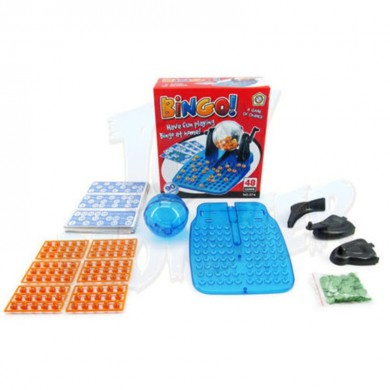 Classic Lotto Bingo Game Machine Rotary Cage Família Party Educational Game Toy