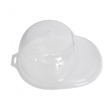 Acrílico Clear Baseball Cap Chapéu Display Caso Holder Protector Baseball Chapéu Holder Embalagem