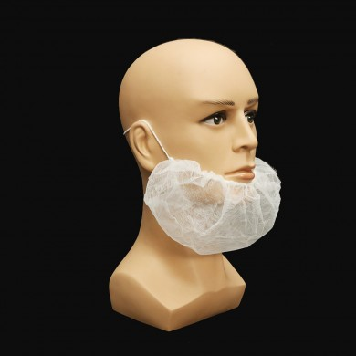 100Pcs Disposable Beard Mask Snood Cover Catering Food Safe Beard Mask