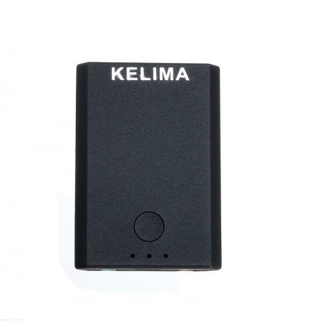 KELIMA TX7 100 MBPS Car Bluetooth Receiver Transmitter Micro USB Port