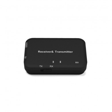 Receptor Bluetooth B9 Transmisor de Audio Bluetooth 4.2 Adaptador Bluetooth Portátil