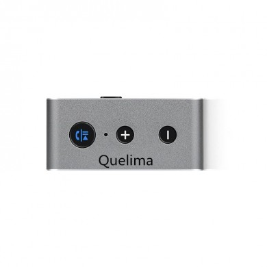 Quelima Car Wireless Bluetooth Receptor 4.2 Cartão Aux Car Audio