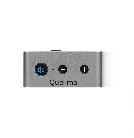 Quelima Car Wireless Bluetooth Receiver 4.2 Card Aux Car Audio