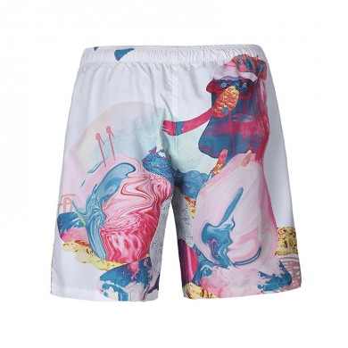 S6253 Beach Shorts Board Shorts 3D candy Magia duck Printing Fast Drying Elasticity impermeabile