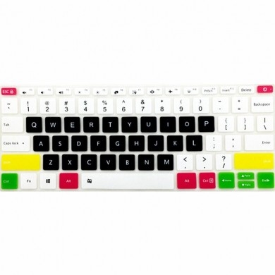 Couverture de clavier en silicone multicolore pour ordinateur portable Xiaomi Air 12,5 pouces 13,3 pouces 15,6 pouces Notebook P