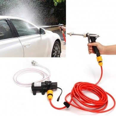 12V DC High Pressure Car Wash 70w 4.5L/min Water Pump Kit Marine Deck Sprayer