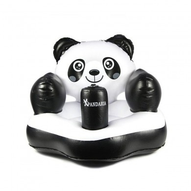 Panda Inflatable Float Swimming Pool Water Raft Baby Seat Bathing Toys