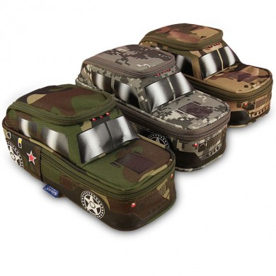 Creative Camouflage Jeep Bolsa Off-Road Car Tank Pen Bolsa Caixa com Coded Combinat For Kids